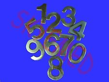 "2"" Brass Numbers for Mail Box Number 2 Inch Brass Home Mailboxes House Metal"