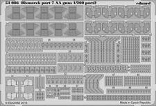 Eduard Accessories 53086 - 1:200 Bismarck Part 7-Aa Guns F. TRUMPETER-ätzsat