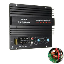 Car Audio Amplifier Powerful Bass Subwoofer 12V Mono 600W Short Circuits Protect