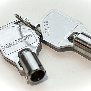 4 key for mason lock box