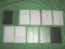 Classic Tab Page Amp Accessory Lot Franklin Covey Planner Refill Fill Set 244