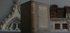 Rare Antique Old Book The Evolution Of Man 1893 1st Edition Scarce Silver Gilt