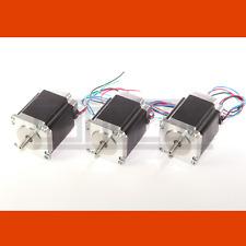 3 x motor PAP NEMA 23 3,0 a con 1,9 nm, ideal para cnc y präzisionsantriebe