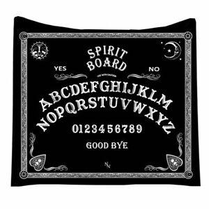 Nemesis Now Spirit Board Ouija Wicca Occulte Gothique Canapé Couverture B4809P9