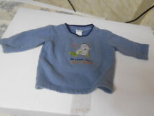 "Carter's Embroidered Walrus ""One Clear Walrus"" Baby Long Sleeve Sweatshirt"