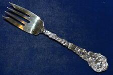"""Gorham Versailles Sterling Silver Gold Wash Salad Fork - 6 1/2""""- 47g - No Mono"""