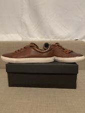Banana Republic Nicklas Leather Sneakers Brown Size 9.5 *PLEASE READ DESCRIPTION