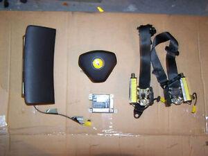 99-04 Ferrari 360 F360 Airbags Airbag Set SRS Air Bag Belts LHD RHD