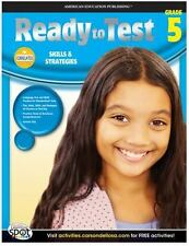 Ready to Test 256p 5th Grade math/language workbook fifth learning book 67% off