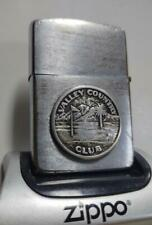 2 Sided Golfers' Special 1968 Zippo Lighter - Silver Valley Country Club Emblem
