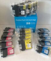 24x TINTE PATRONEN kompatibel für BROTHER DCP 145c 165c 167c 195c 365c MFC 250c