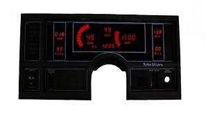 1984-1987 Buick Regal Digital Dash Panel Red LED Gauges Lifetime Warranty
