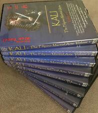 Kali - The Filipino Martial Arts Dvd series featuring Rick Tucci