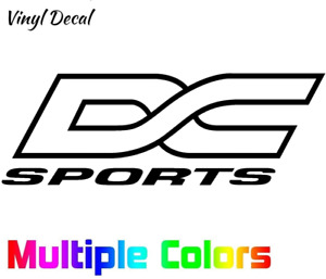 DC Sports Sticker Tuner JDM Import Logo Decal for Car Window