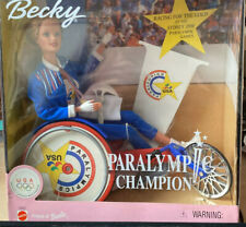 1999 Paralympic Champion Becky Barbie NRFB