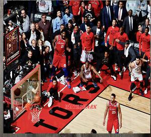 NBA Kawhi Leonard Toronto Raptors Buzzer Beater Color 8 X 10 Photo Pic