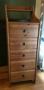 Ikea Leksvik tallboy tall chest of drawers, great condition