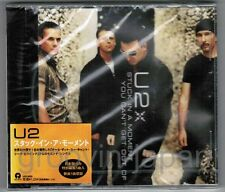 """Sealed U2 Stuck In A Moment You Can't Get Out Of JAPAN 5"""" MAXI CD UICI-5003 OBI"""