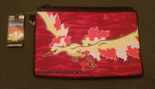 Pokemon Moltres Canvas Wristlet Wallet Zipper New With Tags