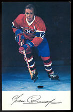 1974-75 Montreal Canadiens Team Issue Yvan Cournoyer NM Photo card