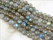 """6mm Indian AAA Labradorite Round Loose Gemstones Beads 15"""""""