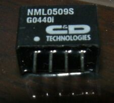 C&D Technologies NML0509S 5 volts to 9 volts 222mA step up DC  convertor 4 pin