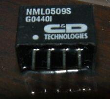 Tecnologie C&D nml0509s 5 VOLT a 9 Volt 222MA intensificare DC CONVERTITORE DA 4 PIN