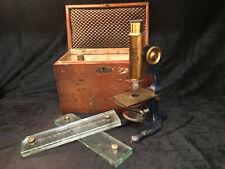 Microscope  VOIGTLAENDER BRAUNSCHWEIG Scientifique Scientist Box