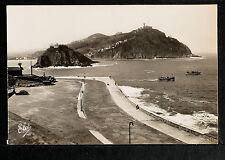 2627.-SAN SEBASTIÁN -El paseo del Principe des Asturias, La Isla Sta. Clara