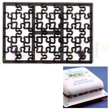 Sugarcraft Patchwork cutters - Jigsaw Cutter - Cake decoration sugarpaste cutter