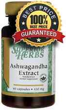 Ashwagandha Extract 450 mg x 60 Capsules ** AMAZING PRICE ** 24HR DISPATCH
