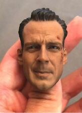 "1/6 Scale Head Sculpt Headplay Carving For Male 12"" Hot Toys Action Figure Body"