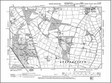 Farnsfield Halam Edingley old map Nottinghamshire 1900: 29SW repro