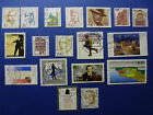 LOT 637 TIMBRES STAMP DIVERS ALLEMAGNE FEDERALE ANNEE 1988/97