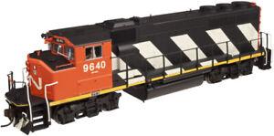 ATLAS  HO SCALE CN STRIPES GP40-2(W) 10001413 ROAD # 9640 DCC & SOUND