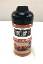 Weber Grill Seasoning Garlic Sriracha 6.2 Ounce