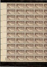 US MINT SHEET SCOTT#968,3C STAMP  POULTRY INDUSTRY..100 YEARS SHEET OF 50 MNH OG