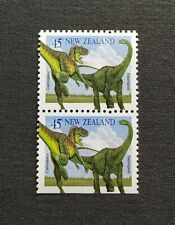 1993 New Zealand Extinct Animals Dinosaurs 2v Booklet Stamps Mint NH
