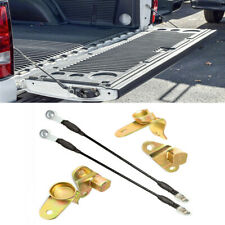 For Chevrolet Silverado GMC Sierra Left & Right Tailgate Hinges Cables Kit 6PCS