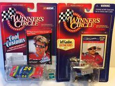 Jeff Gordon Diecast Cars Vintage 1963 Impala and 1987 Sprint Winners Circle NIP