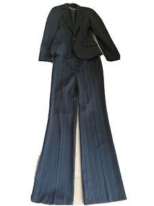 Ladies New Look Size 8 Two-Piece Suit Jacket And Trousers