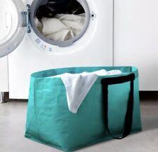 IKEA Frakta Slukis Teal/Turquoise Reusable Tote Bag - Limited Edition