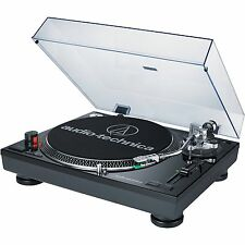 Audio-Technica AT-LP120USB Direct Drive DJ Turntable with USB Output (Black)
