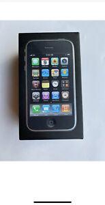 Apple iPhone 3GS  Black 8 GB  EMPTY Box (NO Phone)