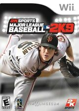 Major League Baseball 2K9 (Wii, 2009) LN, COMPLETE FAST LOW SHIPPING