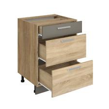 Küchenschrank ALINA 60 cm Schubladenschrank Küche Einbauküche Sonoma Eiche NEU