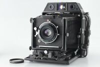 【EXC+4】HORSEMAN 985 / TOPCOR 90MM F/5.6 Roll Film Holder 8EXP from JAPAN