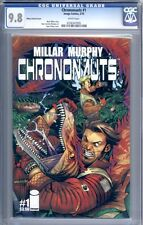 Chrononauts #1    Mark Millar    Sold Out 1st Print    Ottley Variant    CGC 9.8