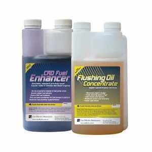 Flushing Oil Concentrate & CRD Fuel Enhancer Value Pack