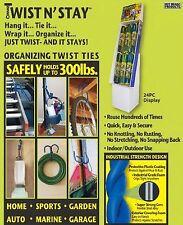 New Hot headz twist n' stay organizing twist ties 10 pack